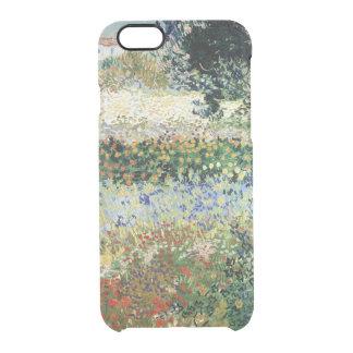 Coque iPhone 6/6S Jardin de Vincent van Gogh   en fleur, Arles, 1888