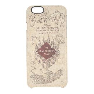 Coque iPhone 6/6S La carte du maraudeur du charme | de Harry Potter