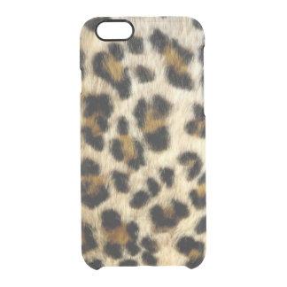 Coque iPhone 6/6S Le léopard noir génial repère l'iPhone rare 6/6