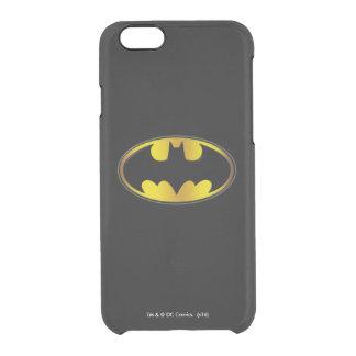 Coque iPhone 6/6S Logo ovale de gradient du symbole | de Batman