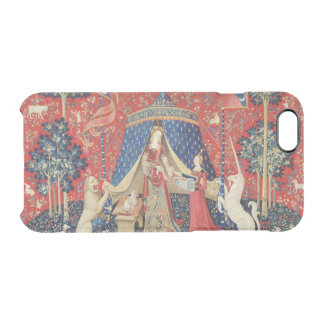"""Coque iPhone 6/6S Madame et la licorne : """"À mon seulement desire"""