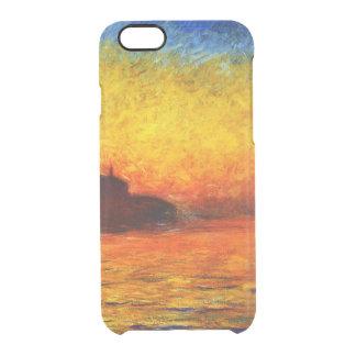 Coque iPhone 6/6S Monet-Coucher du soleil de Claude à Venise