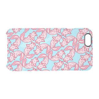 Coque iPhone 6/6S Motif rose Chido d'Axolotl de Chibi