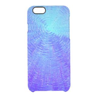 Coque iPhone 6/6S Ondulations bleues