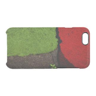 Coque iPhone 6/6S Peinture rouge et verte de route