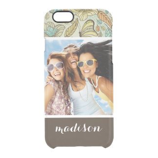 Coque iPhone 6/6S Photo faite sur commande et motif de papillon