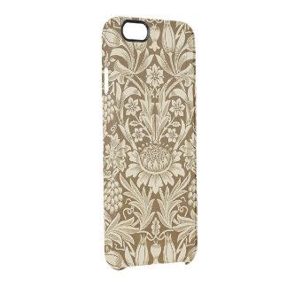 Coque iPhone 6/6S Pliez et mettez en place la caisse claire bronzage