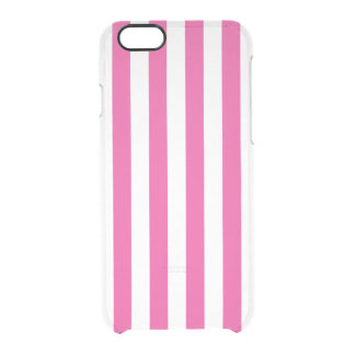 Coque iPhone 6/6S Rayures verticales roses