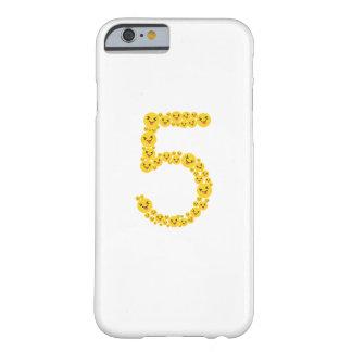 Coque iPhone 6 Barely There 5ème Mignon drôle d'Emoji de l'anniversaire 2012
