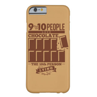 Coque iPhone 6 Barely There 9 10 CHOCOLATS d'amour de personnes
