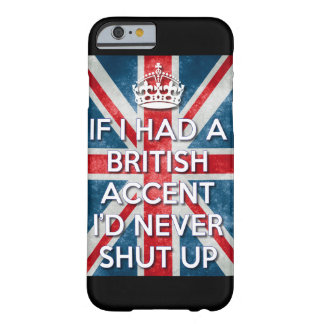 Coque iPhone 6 Barely There Accent britannique