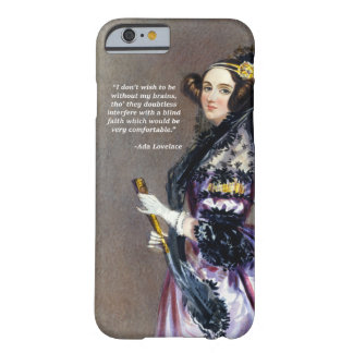 Coque iPhone 6 Barely There Ada Lovelace (portrait par Alfred Chalon)