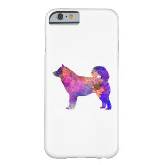 Coque iPhone 6 Barely There Alaskan Malamute 01 in watercolor 2