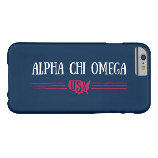 Coque iPhone 6 Barely There Alpha Chi Omega - Etats-Unis