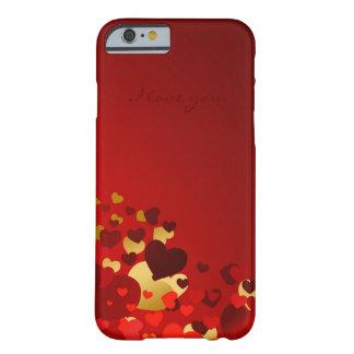 Coque iPhone 6 Barely There amoureux de jour de valentines avec la déclaration