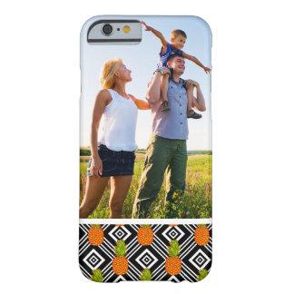 Coque iPhone 6 Barely There Ananas géométriques de photo faite sur commande