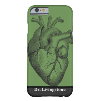 Coque iPhone 6 Barely There Anatomie - coeur