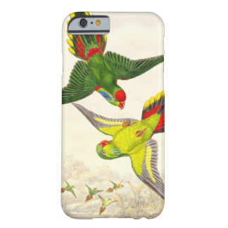 Coque iPhone 6 Barely There Animaux de faune d'oiseaux de perroquet de