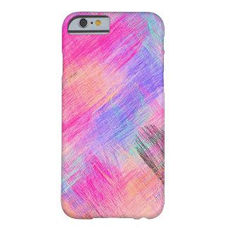 Coque iPhone 6 Barely There Arrière - plan abstrait coloré par pastel #9