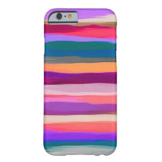 Coque iPhone 6 Barely There Arrière - plan abstrait de pastel