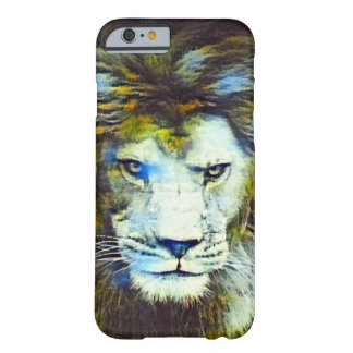 Coque iPhone 6 Barely There Art africain de faune de lion de post