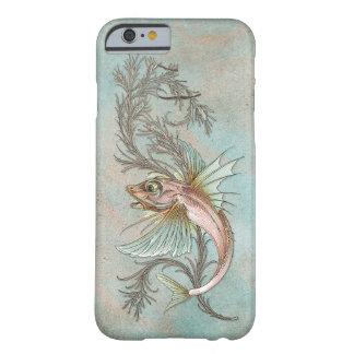 Coque iPhone 6 Barely There Art Nouveau de poissons d'imaginaire