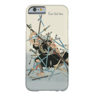 Coque iPhone 6 Barely There Art oriental 3 de guerrier samouraï