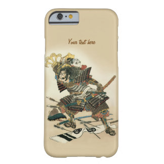 Coque iPhone 6 Barely There Art samouraï d'Oriental de guerrier