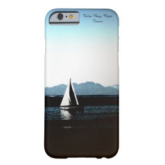 Coque iPhone 6 Barely There Baie fausse, bateau à voile de Cape Town