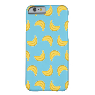 Coque iPhone 6 Barely There Bananes allantes dans le bleu