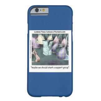 Coque iPhone 6 Barely There Bande dessinée de groupe de soutien sur le cas de