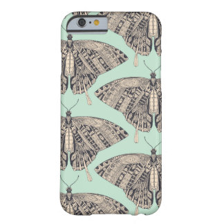 Coque iPhone 6 Barely There basalte de menthe de papillon de machaon
