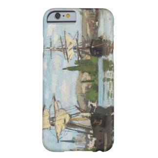 Coque iPhone 6 Barely There Bateaux de Claude Monet | montant sur la Seine à
