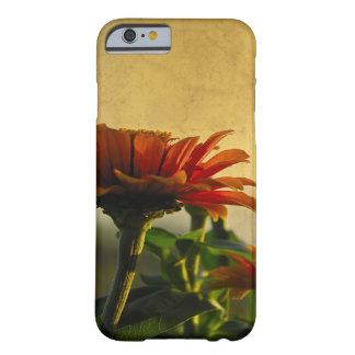 Coque iPhone 6 Barely There Beauté d'or de nature de fleur d'IPhone Grundge