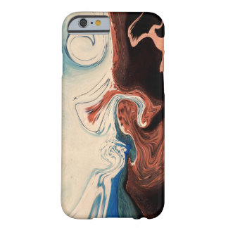 Coque iPhone 6 Barely There bleu beige