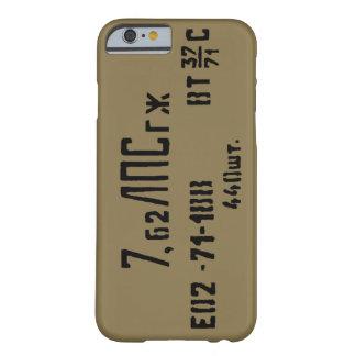Coque iPhone 6 Barely There Boîte de Spam de munitions d'AK-47 7.62x39