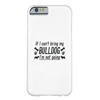 Coque iPhone 6 Barely There Bouledogue
