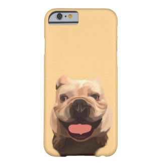 Coque iPhone 6 Barely There Bouledogue heureux