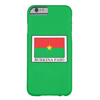 Coque iPhone 6 Barely There Burkina Faso
