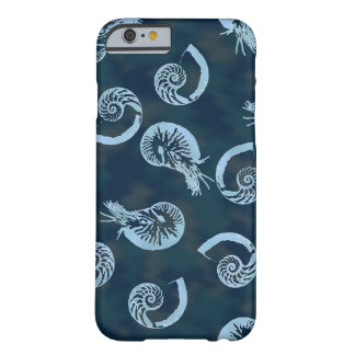 Coque iPhone 6 Barely There Caisse bleue d'IPhone 6 de Nautilus