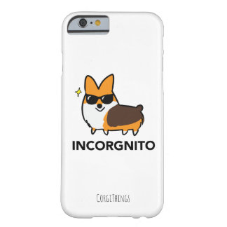 Coque iPhone 6 Barely There Caisse tricolore de téléphone de corgi
