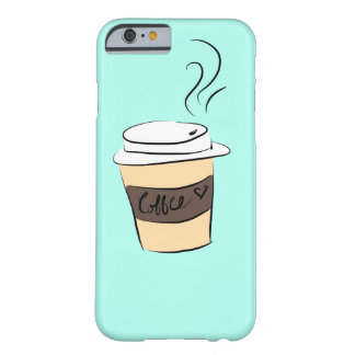 Coque iPhone 6 Barely There Caisse turquoise de café