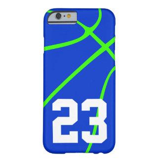 Coque iPhone 6 Barely There Caisse verte bleue et au néon lumineuse de