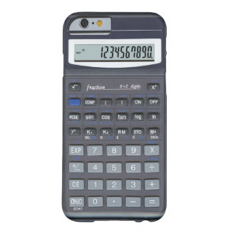 Coque iPhone 6 Barely There Calculatrice