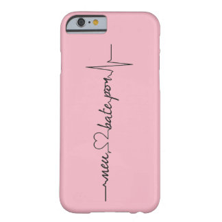 Coque iPhone 6 Barely There Capinhas Mon coeur bat par…