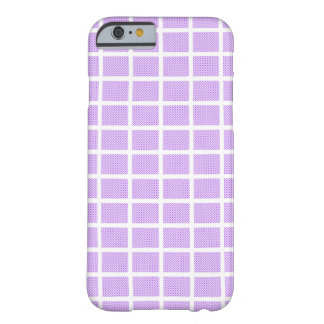 Coque iPhone 6 Barely There Carrés de point de polka