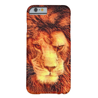 Coque iPhone 6 Barely There Cas africain de l'iPhone 6/6s d'art de faune de