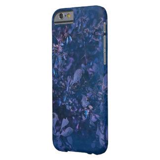 Coque iPhone 6 Barely There Cas bleu de téléphone de berbéris