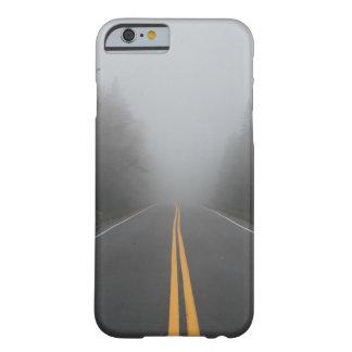 Coque iPhone 6 Barely There Cas brumeux de téléphone de route