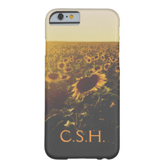 COQUE iPhone 6 BARELY THERE CAS DE GISEMENT DE TOURNESOL